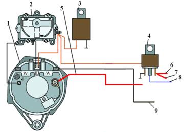15 сен 2011 у меня на ed 480 следующая схема подключения схема 1 или все таки ставить обычный генератор от автомобиля...