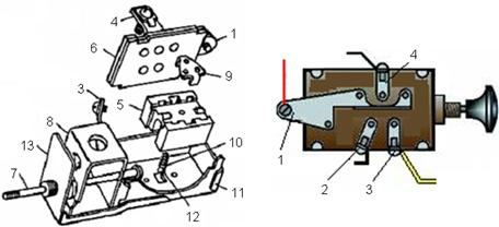 Схема подключения центрального переключателя света фото 873