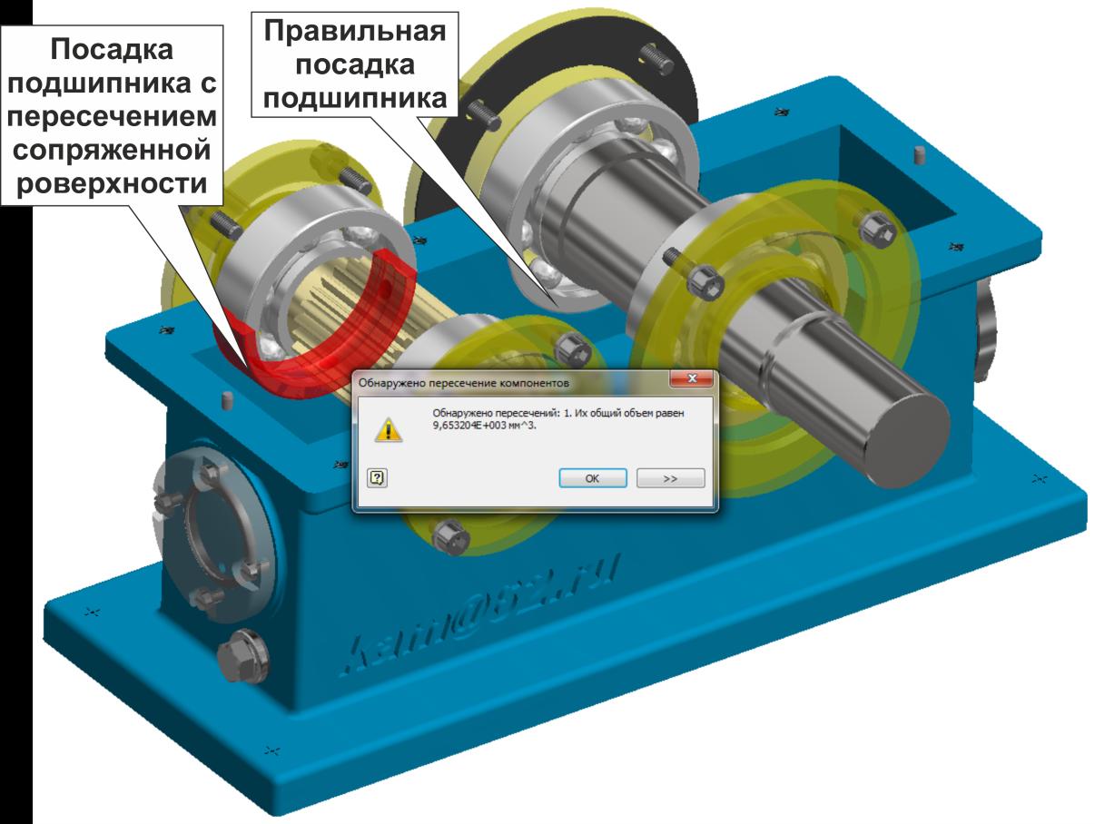 Рисунок 1 – Пример осуществления автоматической проверки